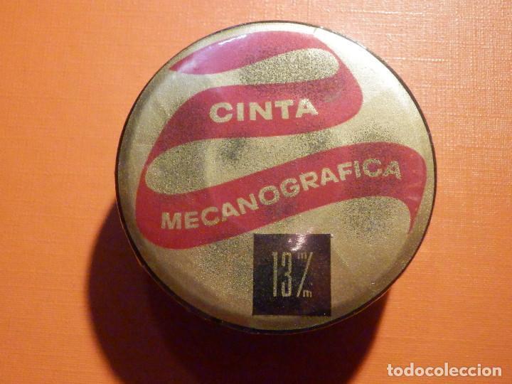 CINTA MECANOGRÁFICA PARA MÁQUINA DE ESCRIBIR HISPANO OLIVETTI - NEGRO FIJO HO - 13 M/M - NUEVA (Antigüedades - Técnicas - Máquinas de Escribir Antiguas - Olivetti)