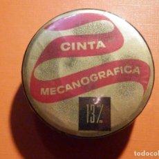 Antigüedades: CINTA MECANOGRÁFICA PARA MÁQUINA DE ESCRIBIR HISPANO OLIVETTI - NEGRO FIJO HO - 13 M/M - NUEVA. Lote 230482680