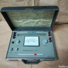 Antigüedades: KAINOTEST BT-1 COMPRADOR INSTALACIONES BAJA TENSIÓN 220V. Lote 230497770