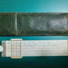 Antigüedades: REGLA DE CALCULO .- FABER-CASTELL REF. 62/82 CON FUNDA ORIGINAL. Lote 230714785