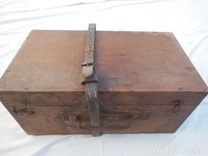 Antigüedades: TEODOLITO ANTIGUO H MORIN, PARIS, en su caja original - Foto 3 - 230720250
