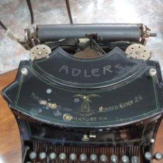 Antigüedades: MAQUINA DE ESCRIBIR ADLER MODELO 15, AÑO 1919. PRECIOSA. VER FOTOS. Lote 230782765