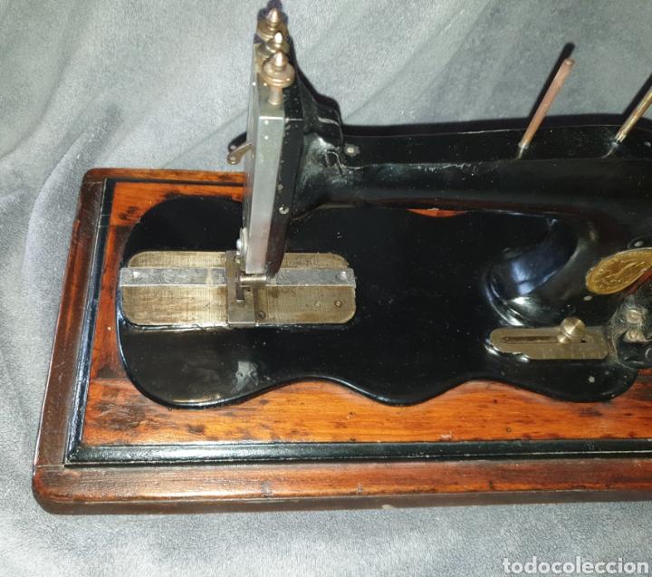 Antigüedades: Maquina Singer 1886 Base violin - Foto 2 - 230832635