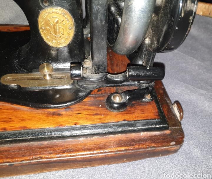 Antigüedades: Maquina Singer 1886 Base violin - Foto 4 - 230832635