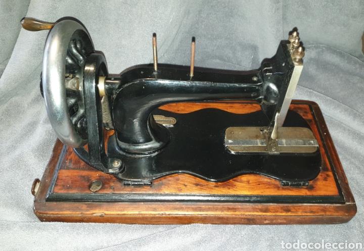 Antigüedades: Maquina Singer 1886 Base violin - Foto 6 - 230832635