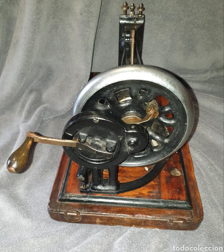 Antigüedades: Maquina Singer 1886 Base violin - Foto 7 - 230832635
