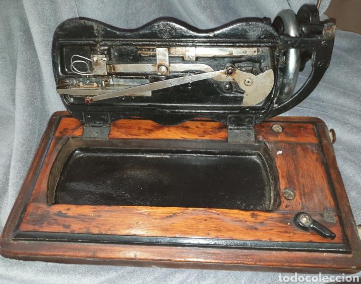 Antigüedades: Maquina Singer 1886 Base violin - Foto 8 - 230832635