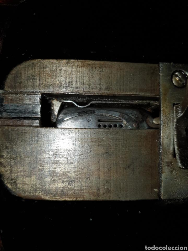Antigüedades: Maquina Singer 1886 Base violin - Foto 9 - 230832635
