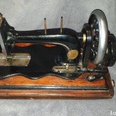 Antiguidades: MAQUINA SINGER 1886 BASE VIOLIN. Lote 230832635