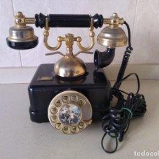Teléfonos: ANTIGUO TELEFONO ELASA GOYA. FUNCIONA. ADAPTADO. Lote 230843915
