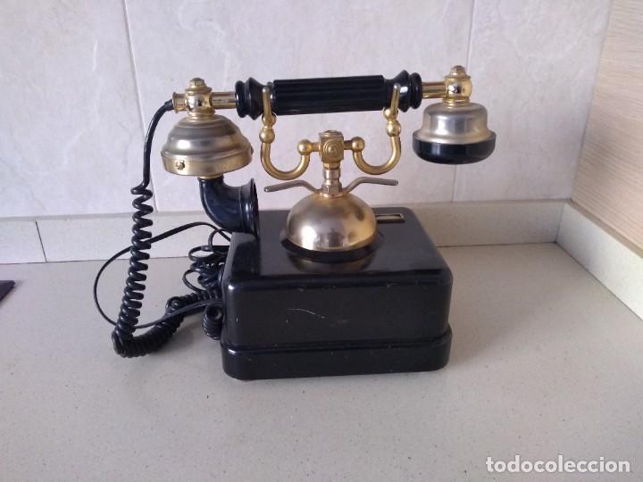 Teléfonos: Antiguo telefono Elasa Goya. Funciona. Adaptado - Foto 5 - 230843915