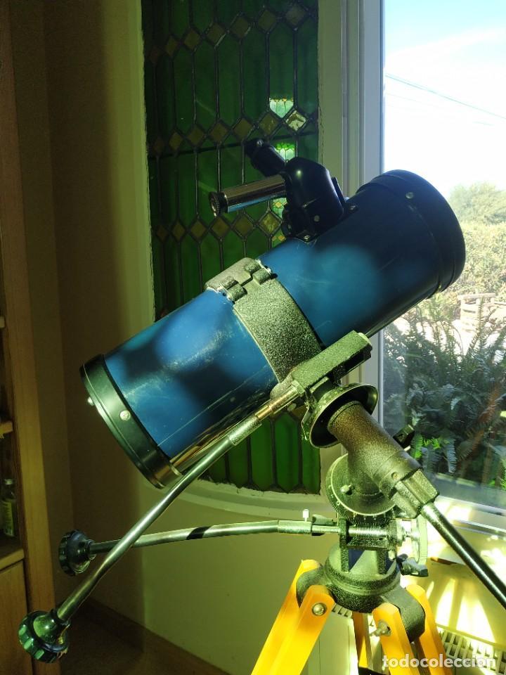 TELESCOPIO ECUATORIAL REFLECTOR JAPONÉS (Antigüedades - Técnicas - Otros Instrumentos Ópticos Antiguos)