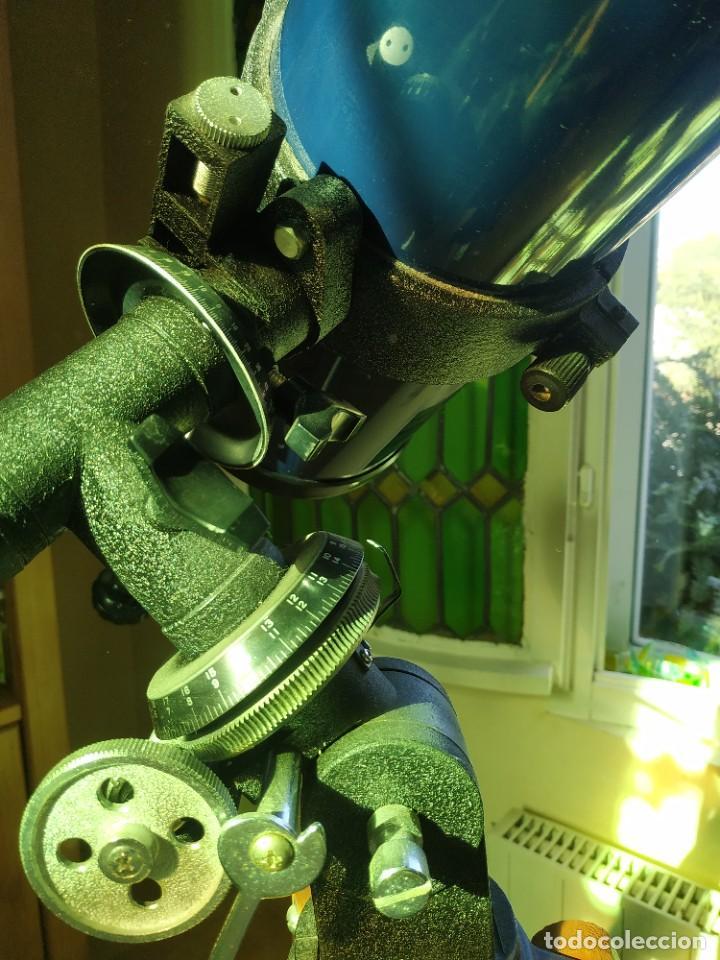 Antigüedades: Telescopio Ecuatorial Reflector japonés - Foto 7 - 230862490