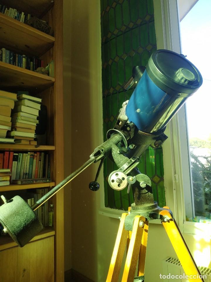 Antigüedades: Telescopio Ecuatorial Reflector japonés - Foto 8 - 230862490