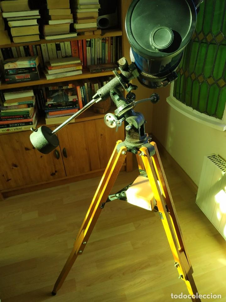 Antigüedades: Telescopio Ecuatorial Reflector japonés - Foto 12 - 230862490