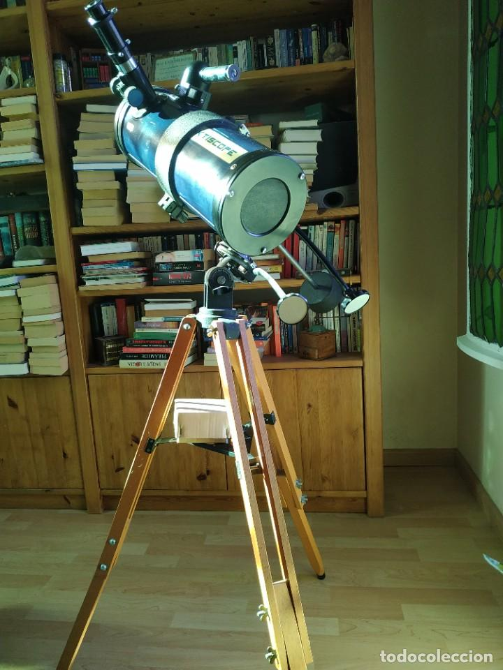 Antigüedades: Telescopio Ecuatorial Reflector japonés - Foto 14 - 230862490