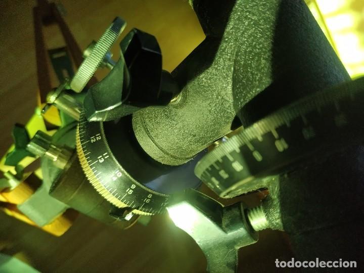 Antigüedades: Telescopio Ecuatorial Reflector japonés - Foto 16 - 230862490