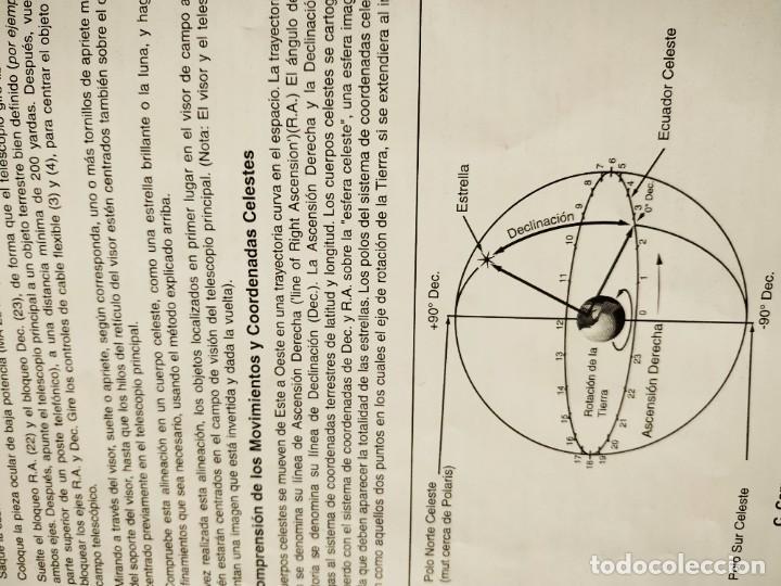 Antigüedades: Telescopio Ecuatorial Reflector japonés - Foto 19 - 230862490