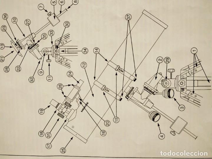Antigüedades: Telescopio Ecuatorial Reflector japonés - Foto 21 - 230862490