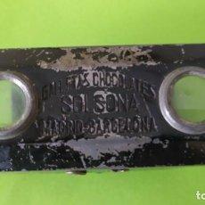 Antigüedades: VISOR ORIGINAL ESTEREOSCOPICO ALBUM EUROPA I CHOCOLATES SOLSONA 1933-1936. Lote 230863895