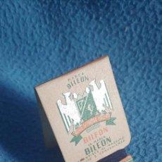 Antigüedades: MUESTRA PUBLICIDAD DE HILO.MARCA FRANCESA BILEON.. Lote 230945490