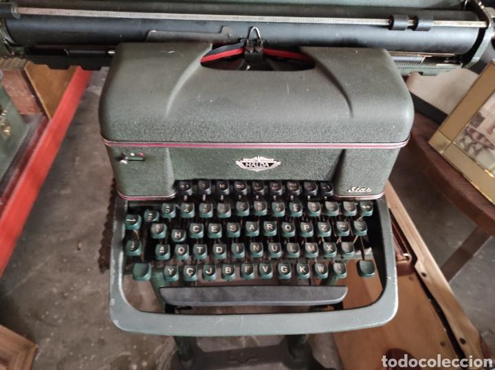 Antigüedades: antigua maquina de escribir de los años 50. Halda Star. - Foto 3 - 231017185