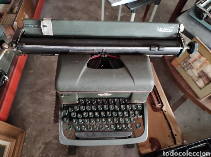 Antigüedades: antigua maquina de escribir de los años 50. Halda Star. - Foto 4 - 231017185