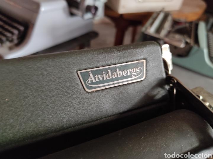 Antigüedades: antigua maquina de escribir de los años 50. Halda Star. - Foto 5 - 231017185