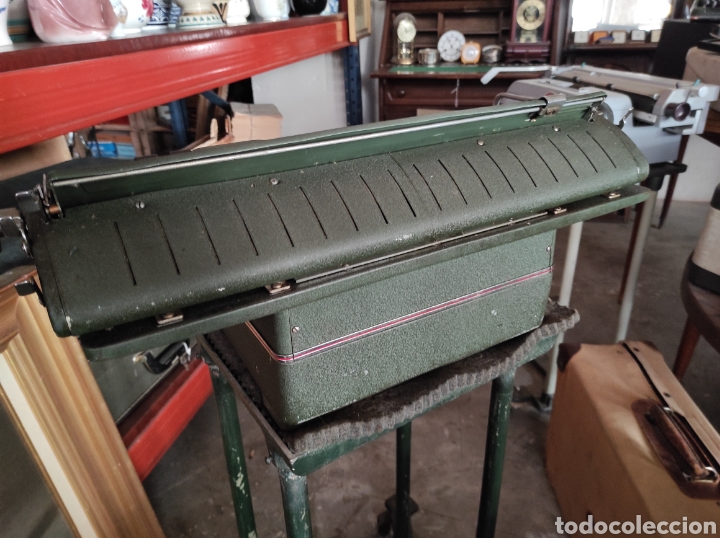 Antigüedades: antigua maquina de escribir de los años 50. Halda Star. - Foto 6 - 231017185