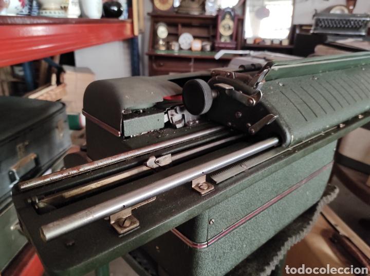 Antigüedades: antigua maquina de escribir de los años 50. Halda Star. - Foto 7 - 231017185