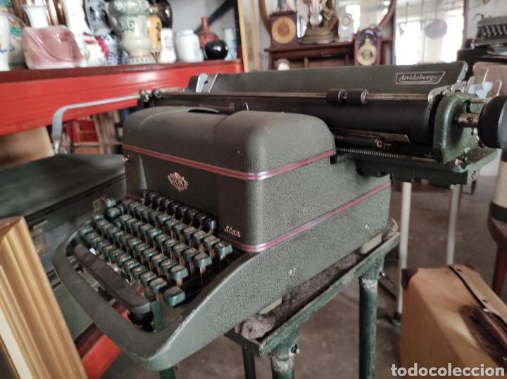 Antigüedades: antigua maquina de escribir de los años 50. Halda Star. - Foto 8 - 231017185