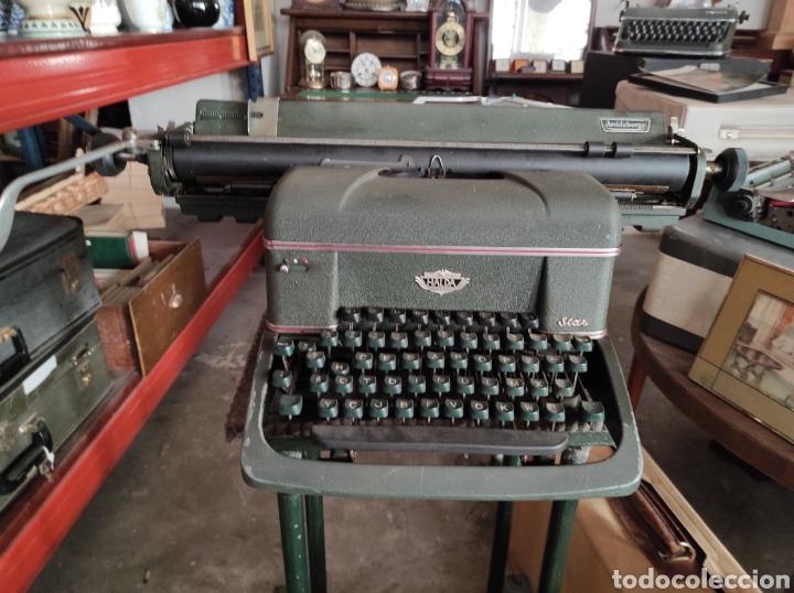 ANTIGUA MAQUINA DE ESCRIBIR DE LOS AÑOS 50. HALDA STAR. (Antigüedades - Técnicas - Máquinas de Escribir Antiguas - Otras)