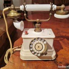 Teléfonos: TELEFONO DANES DE PRINCIPIO DEL S. XX. KJOBENHAVNS TELEFON AKTIESELSKAB, MODELO DIFICIL, DE MUSEO. Lote 231052940