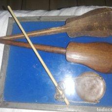 Antigüedades: ANTIGUA PESA DE ORO.. SIGLO XIX.... Lote 231070595