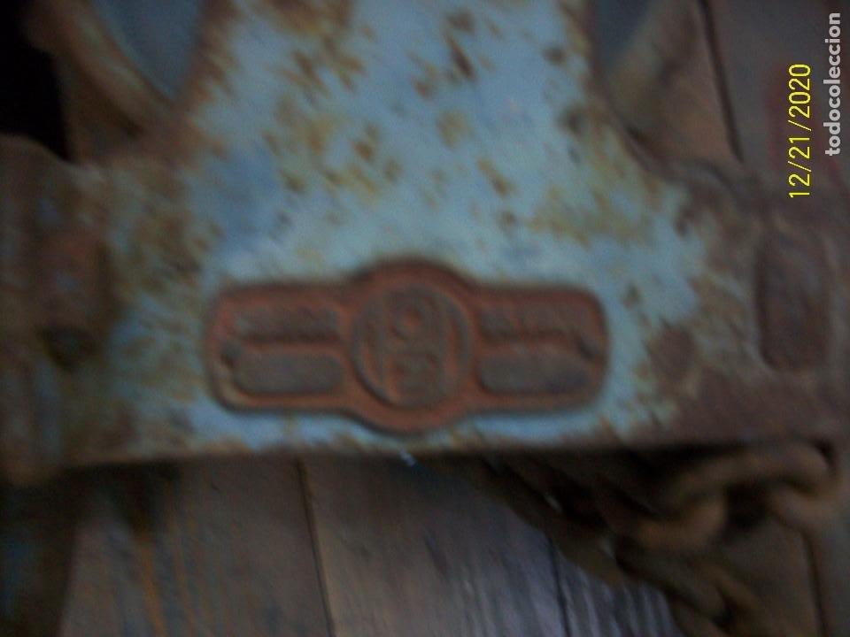 Antigüedades: ANTIGUO POLIPASTO - Foto 3 - 231243300