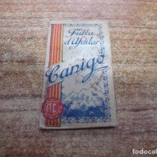 Antigüedades: FUNDA DE AFEITAR CON HOJA CANIGO. Lote 231265180