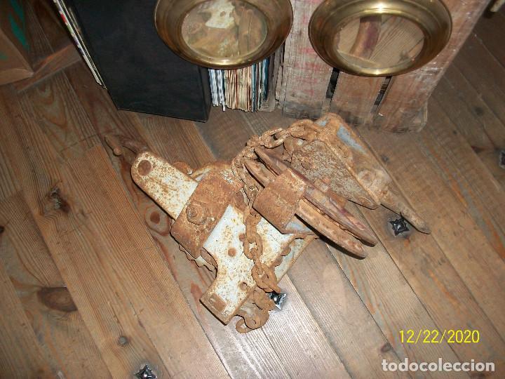 Antigüedades: ANTIGUO POLIPASTO - Foto 8 - 231243300