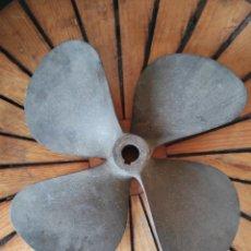 Antigüedades: HÉLICE CUATRO PALAS 46 CM DE DIAMETRO. Lote 231389535