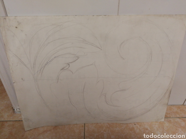 Antigüedades: CARTEL ALFA, MÁQUINAS DE COSER, 42CM X 31CM. CARTEL DE TIENDA. - Foto 2 - 231392125