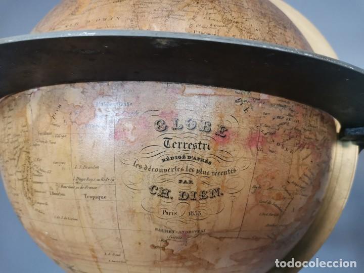 Antigüedades: PAREJA DE GLOBO Y PLANETARIO 1853 - Foto 5 - 231450985