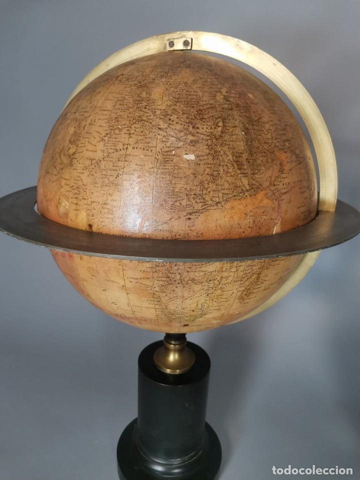 Antigüedades: PAREJA DE GLOBO Y PLANETARIO 1853 - Foto 6 - 231450985