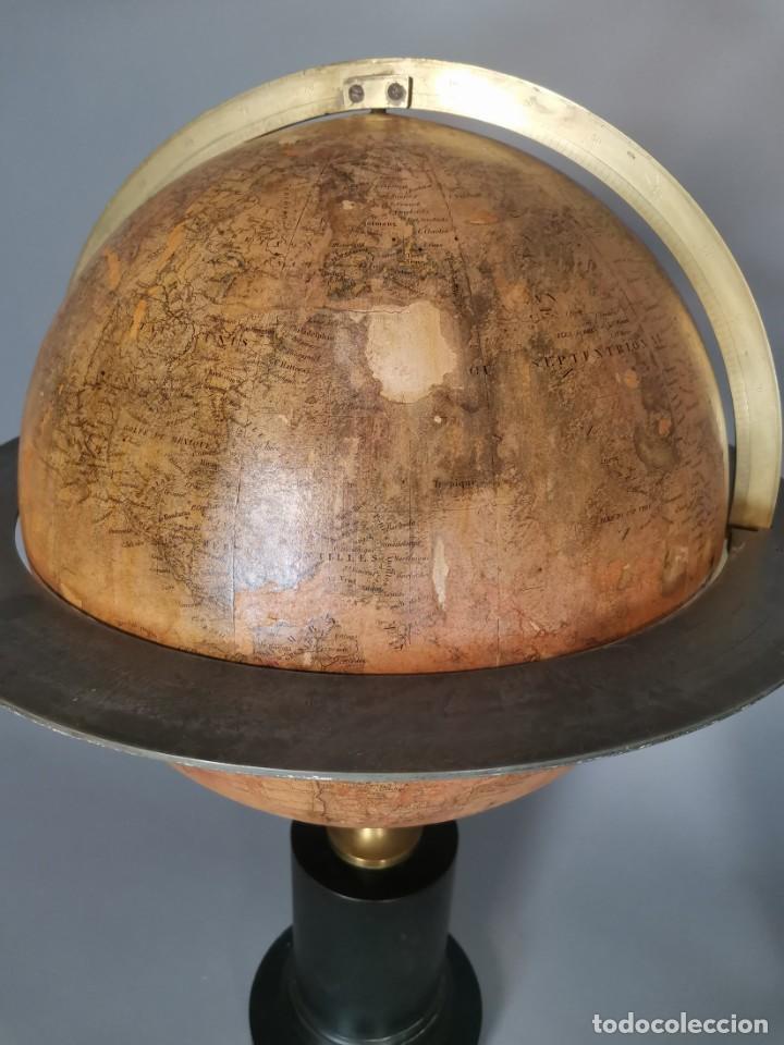 Antigüedades: PAREJA DE GLOBO Y PLANETARIO 1853 - Foto 7 - 231450985