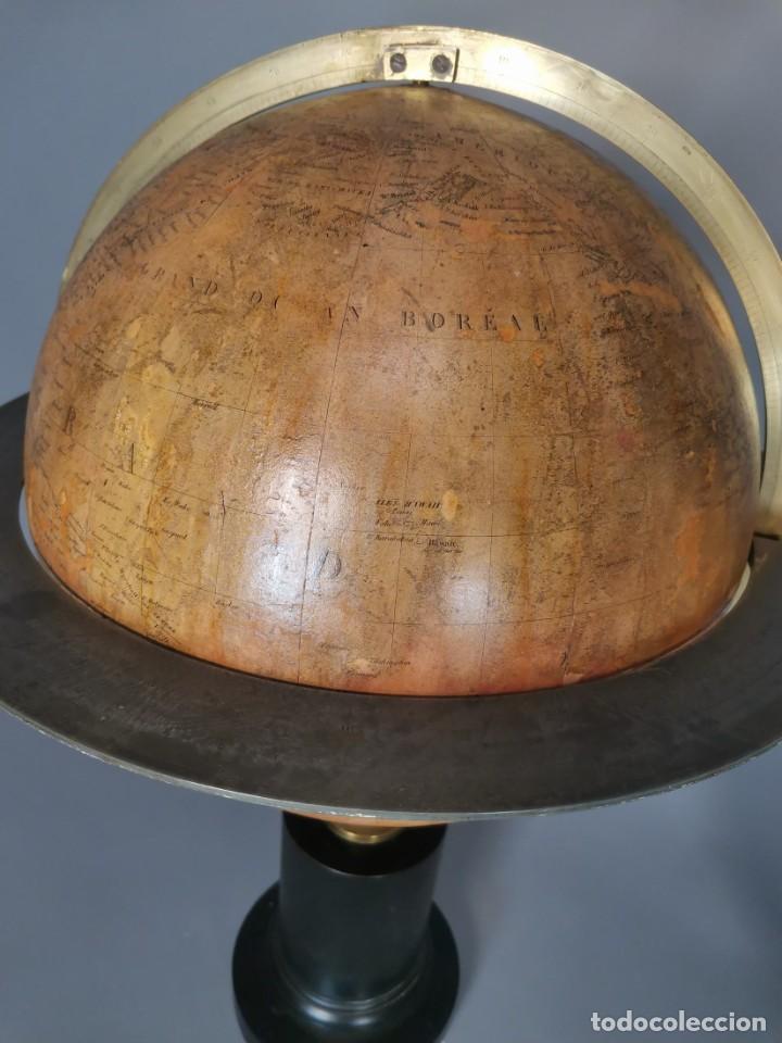 Antigüedades: PAREJA DE GLOBO Y PLANETARIO 1853 - Foto 8 - 231450985