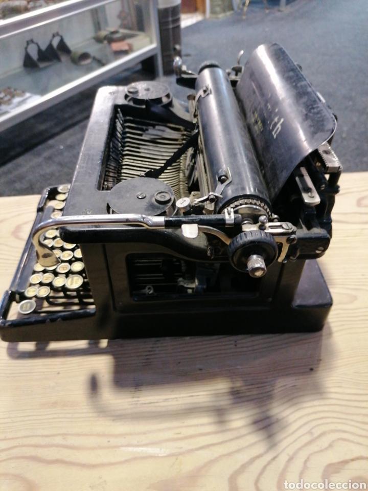 Antigüedades: Máquina de escribir L C. S m i t h - Foto 3 - 231492835