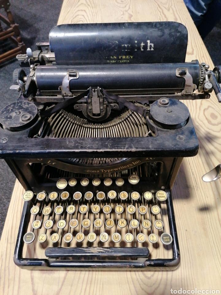 MÁQUINA DE ESCRIBIR L C. S M I T H (Antigüedades - Técnicas - Máquinas de Escribir Antiguas - Smith)