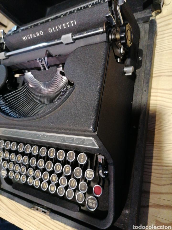 Antigüedades: Máquina de escribir funcionando en buen estado con señales - Foto 2 - 231494685