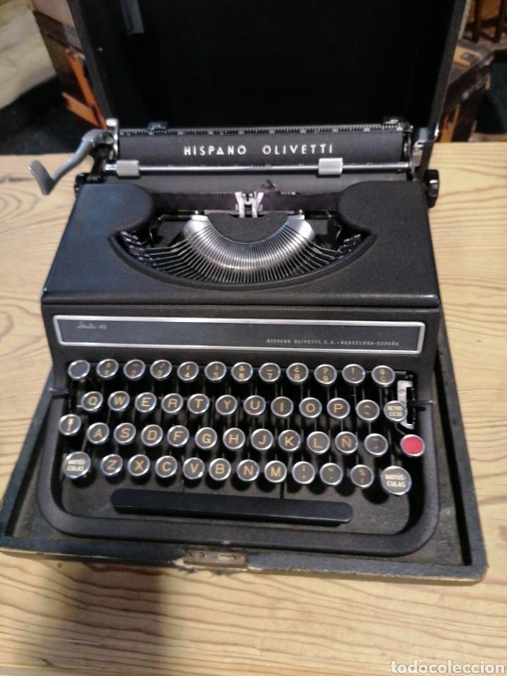 Antigüedades: Máquina de escribir funcionando en buen estado con señales - Foto 4 - 231494685