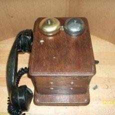 Teléfonos: ANTIGUO TELEFONO DE MAGNETO- AÑOS 1930 APROX. Lote 253766160