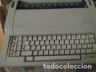 MAQUINA DE ESCRIBIR ELECTRONICA (Antigüedades - Técnicas - Máquinas de Escribir Antiguas - Olympia)