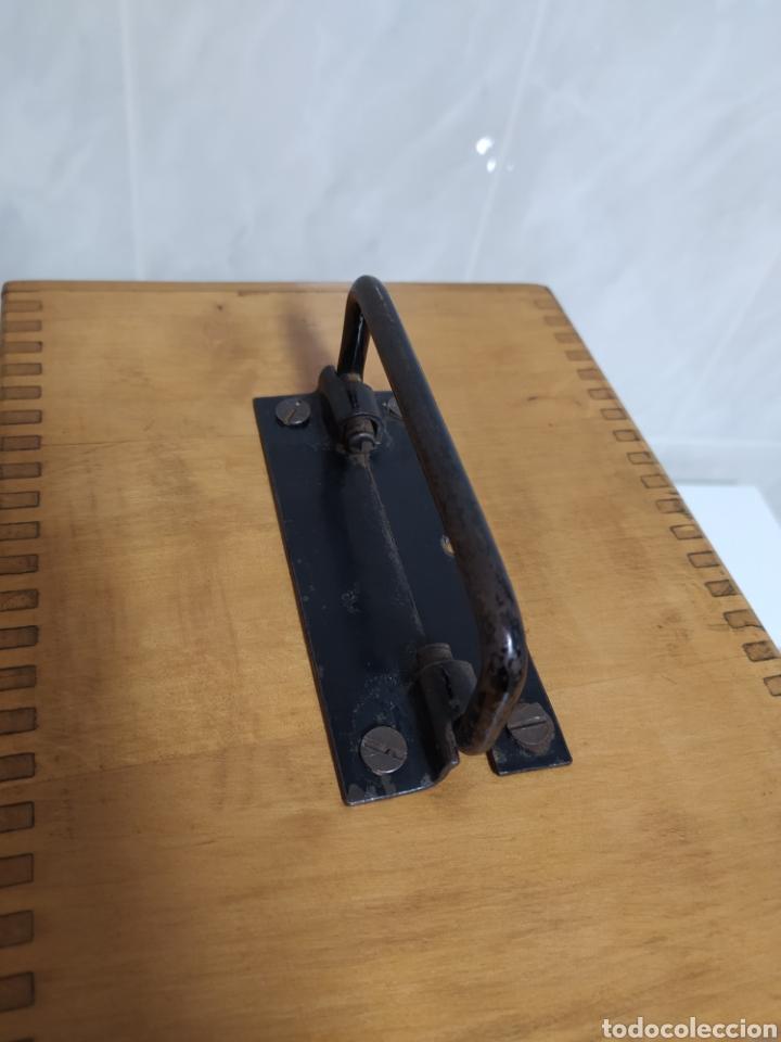 Antigüedades: Antiguo Microscopio R. Winkel Göttingen. 1915 aprox - Foto 10 - 231882250